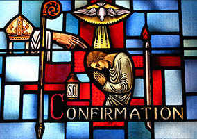 Stained Glass - Confirmation