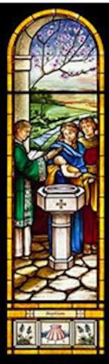 Baptism Stained Glass