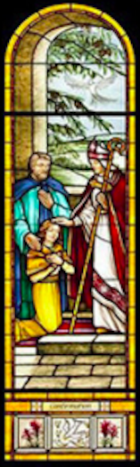 Confirmation Stained Glass
