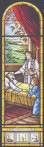 Anointing Stained Glass