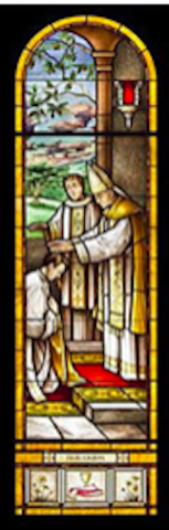 Ordination Stained Glass