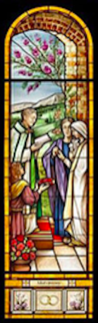 Matrimony Stained Glass